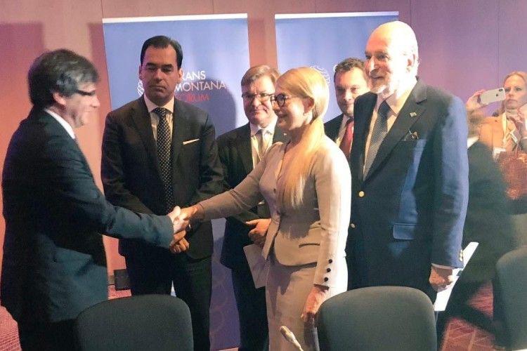 Навіщо Тимошенко зустрічалася зкаталонським сепаратистом