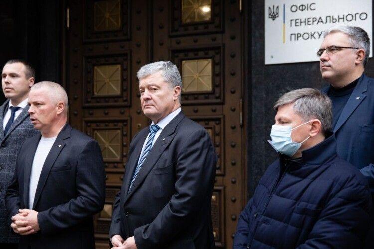 Депутати від опозиції вимагають від Генпрокурора Венедіктової розслідувати «вагнергейт» – Порошенко