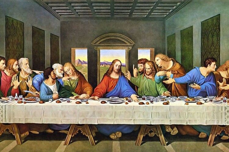 Щоб зобразити лик Христа, художник місяцями шукав натурника