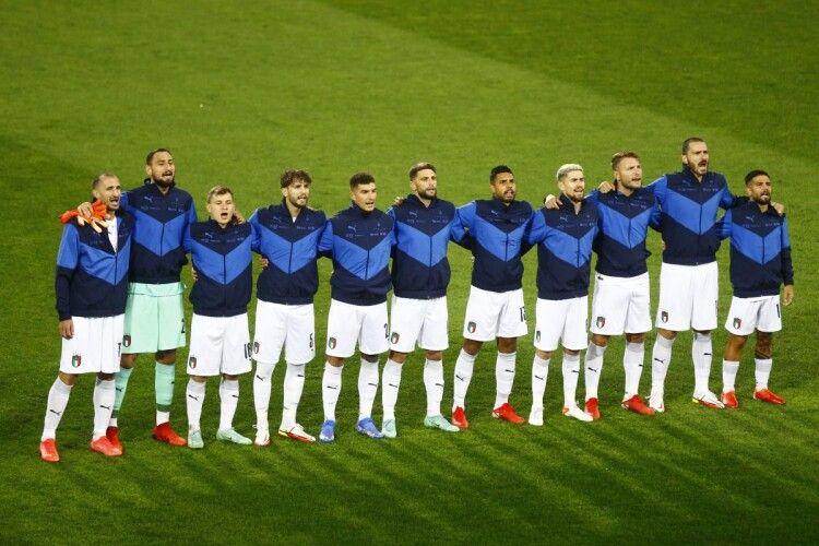 Збірна Італії побила рекорд бразильців, довівши свою безпрограшну серію до 36 матчів