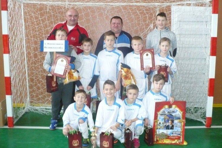 Юні футболісти з Нововолинська здобули «бронзу» на міжобласному турнірі