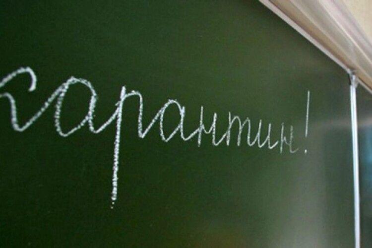 У луцьких школах карантин подовжили до 12 лютого