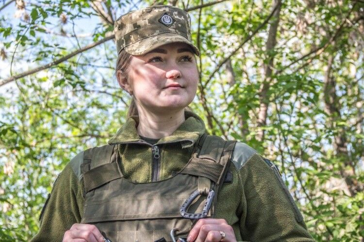 «Доню, благословляю. Іди захищай Україну!» –ковельчанка з ім'ям князівни стала офіцеркою у піхотній бригаді