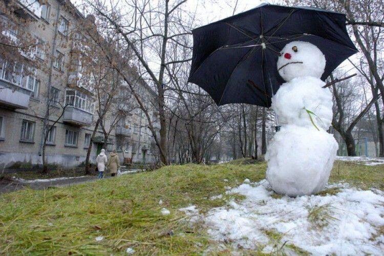 Погода на вівторок, 29 грудня: вдень на Волині буде до +10°