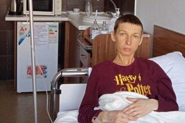 Заради маленького сина: виховательці з Луцька потрібна допомога, щоб побороти рак