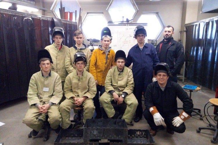 Вихованці Камінь-Каширського училища пройшли стажування в Естонії