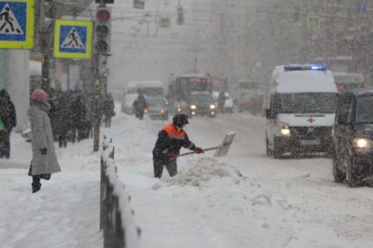 У Луцьку на прибирання снігу витратять 3,5 мільйона гривень
