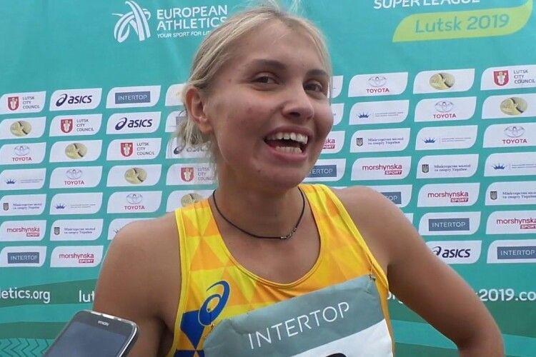Після першого дня у Луцьку на Чемпіонаті Європи з легкоатлетичних єдиноборств лідирує українка Дарина Слобода (Відео)