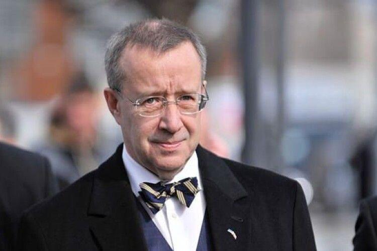 Експрезидент Естонії пропонує заборонити громадянам Росії в'їзд до Євросоюзу
