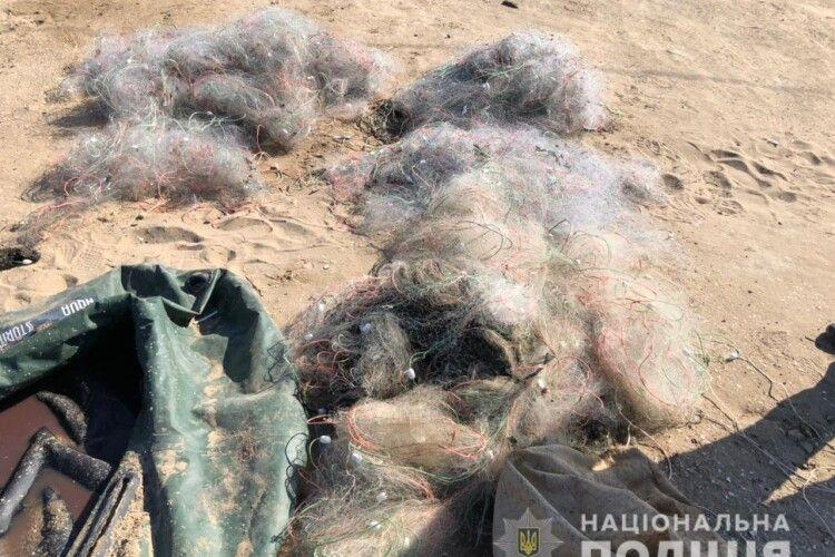 Браконьєри виловили більше 3 тисяч рибин кефалі (Фото)
