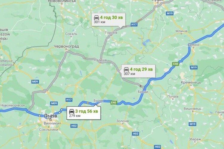 Сучасна дорога європейського рівня – такою планують автодорогу «Краковець - Броди - Рівне»