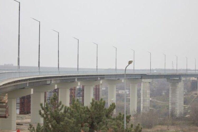Зеленський у Запоріжжі відкрив міст на Хортицю