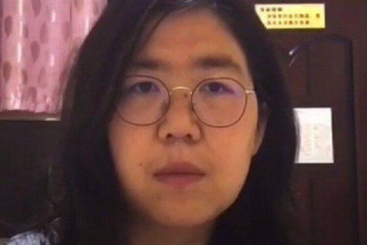 У Китаї до ув'язнення засудили журналістку, яка розповідала про COVID-19 в Ухані