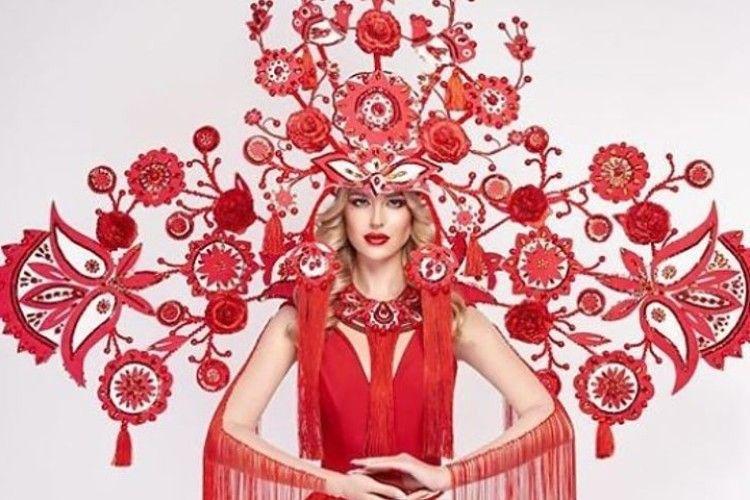 «Міс Україна Всесвіт-2018» вийде на сцену у 15-кілограмовому «дереві»