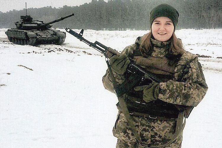Батько здонькою водин день записалися вЗбройні сили України!
