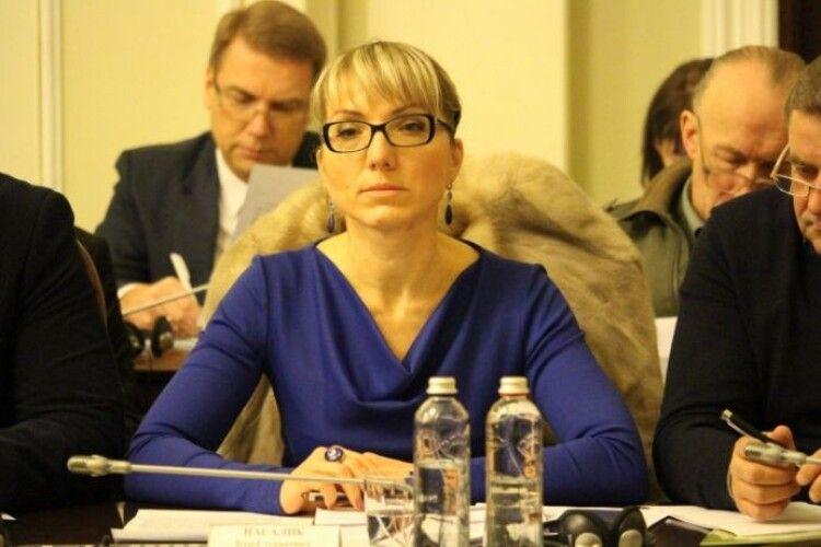 Перша заступниця міністра енергетики Ольга Буславець написала заяву про звільнення