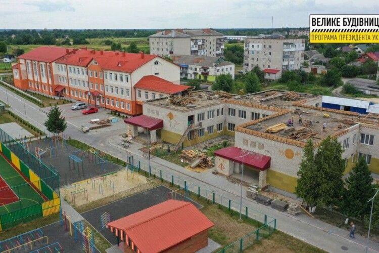У селі Вербка біля Ковеля розпочали ремонтні роботи у навчально-виховному комплексі (Фото)