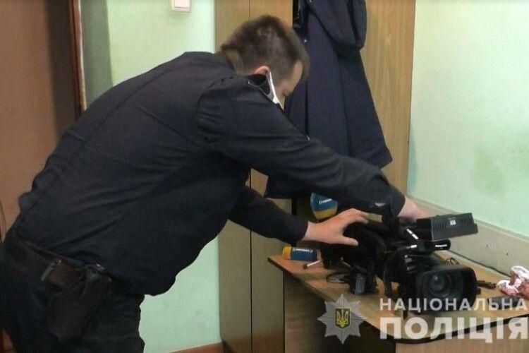 Рівнянин обікрав регіональний офіс центрального телеканалу (Відео, фото)