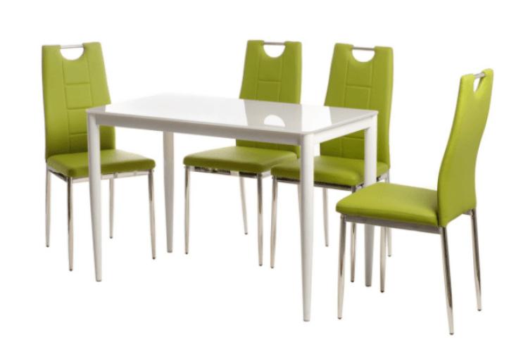 Разом чи окремо: купуємо скляний стіл та стільці