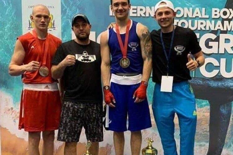 Волинський боксер привіз медаль із змагань у Чорногорії
