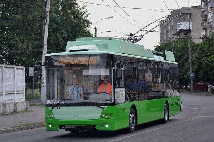 Харків отримав всі 57 замовлених у Луцьку тролейбусів