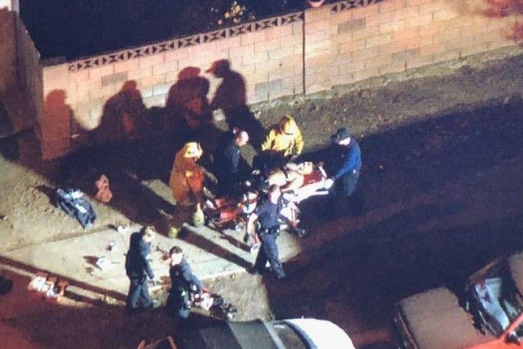 У Лос-Аджелесі чоловік у протигазі і з мачете в руках напав на перехожих