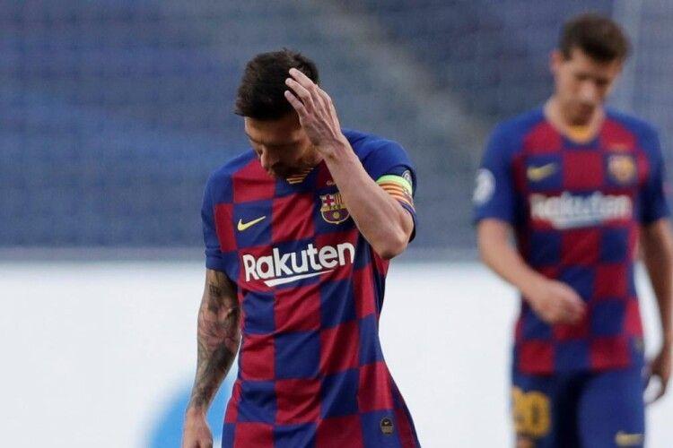 Фанати «Барселони» свистом зустріли гравців своєї команди після ганебної поразки від «Баварії» з рахунком 2:8 (Відео)