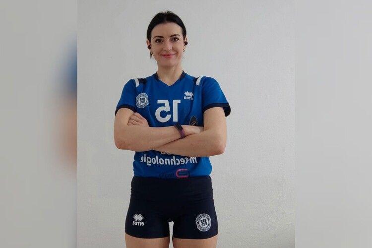 Українська волейболістка перебралася в Косово. Фото