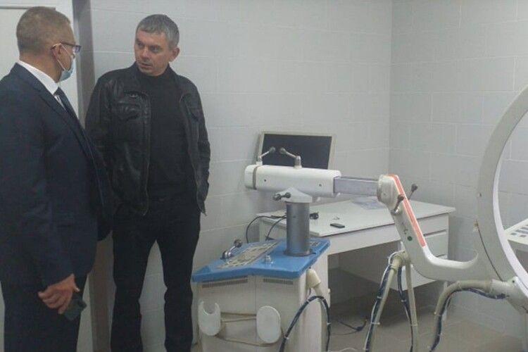 У Торчинській райлікарні завершують облаштування палати інтенсивної терапії