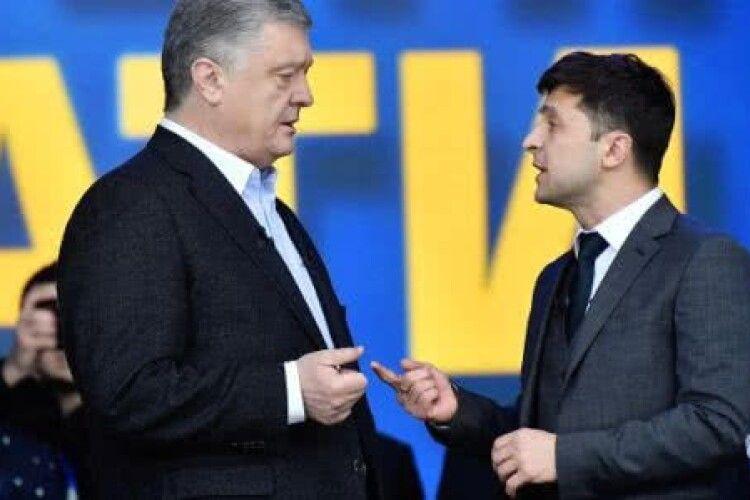 Зеленський з квітня обвалився  майже на 11%, Порошенко зріс на 4% -  КМІС