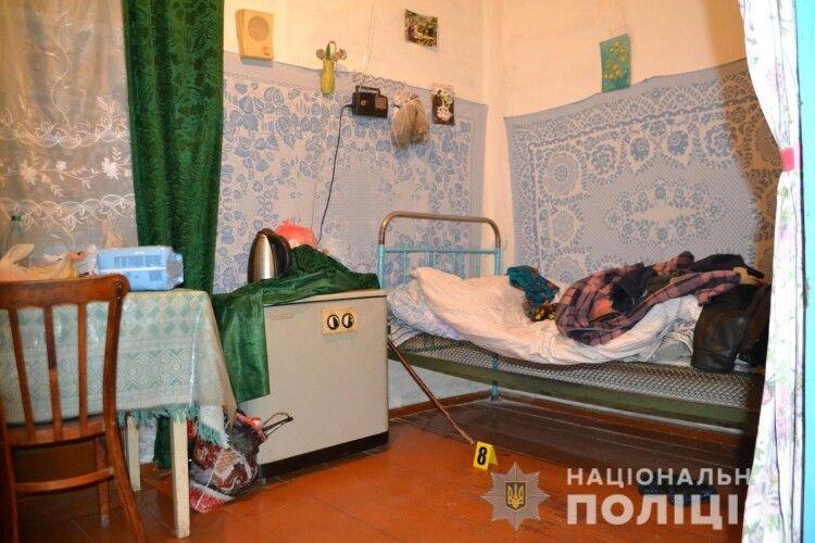 86-річний селянин вбив свою дружину і порубав на подвір'ї тіло (Відео)