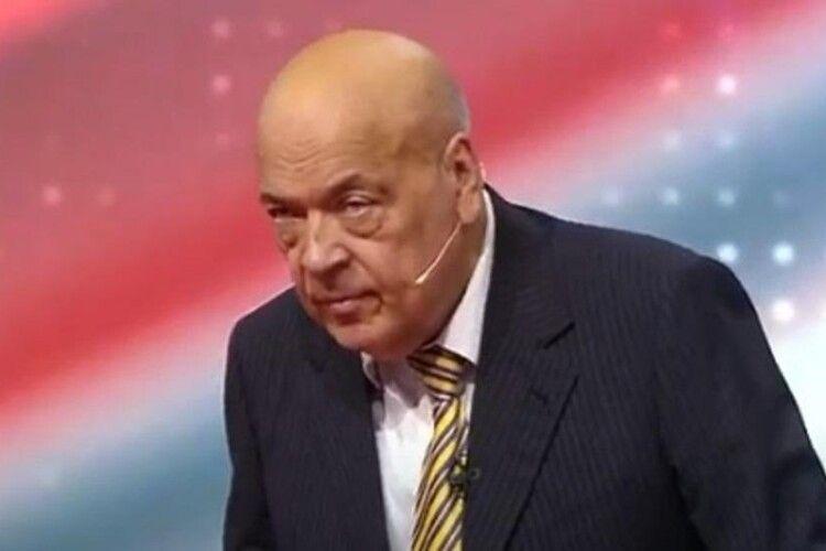 Геннадію Москалю стало погано під час прямого телеефіру