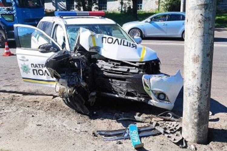 Оприлюднили відео з реєстратора смертельної аварії за участю патрульних у Луцьку