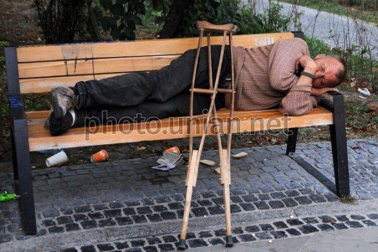 Мер Львова розпорядився облаштувати умови для купання безпритульних
