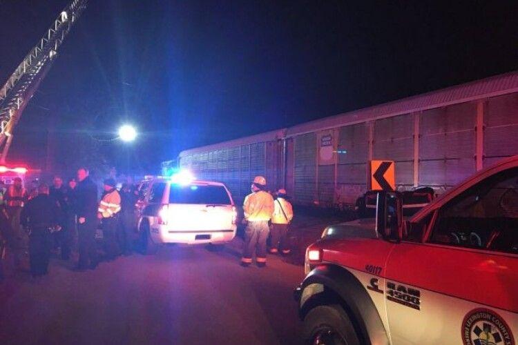 Залізнична катастрофа у США: двоє осіб загинули