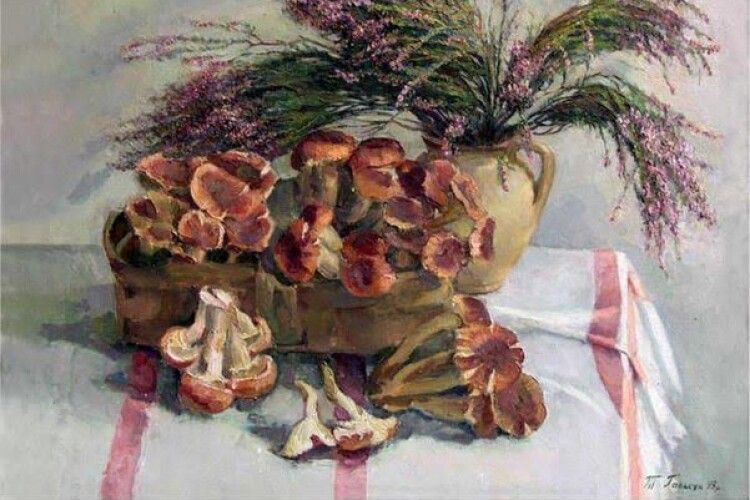Відвідайте виставку народної художниці України Тетяни Галькун