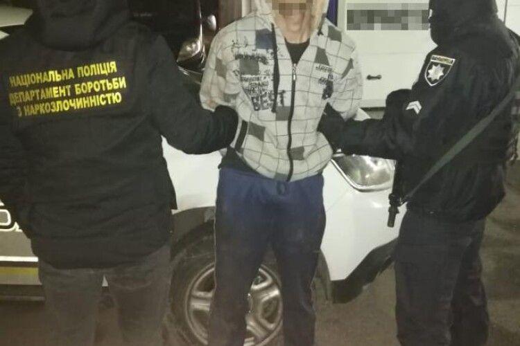 На Волині затримали банду наркозбувачів (Фото)