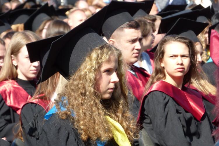 Відбулася урочиста посвята в студенти Лесиного вишу (Фото, відео)