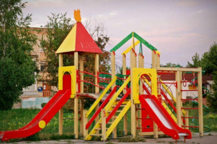 У Володимирі витратять майже 600 тисяч на дитячий майданчик