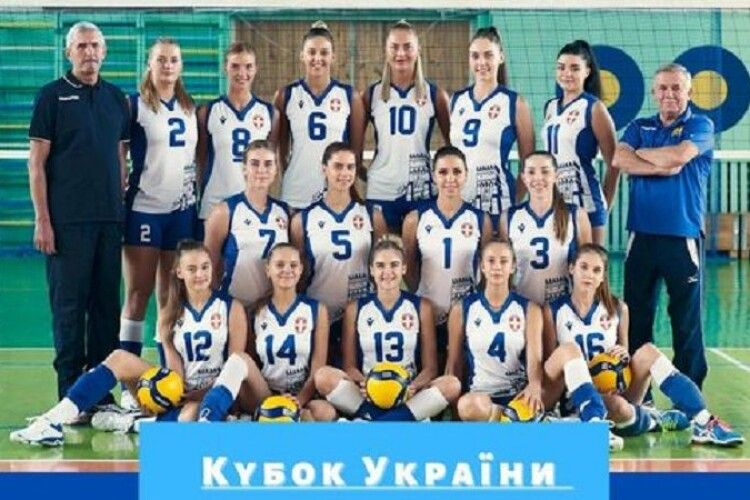 Волинська волейбольна команда «Волинь-Університет-ОДЮСШ» увійшла в третій тур Кубку України