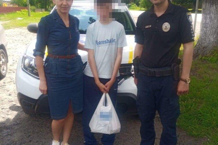 На Волині розшукали неповнолітнього, який зник біля лікарні