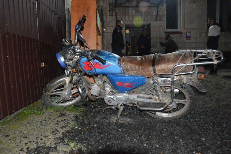 Молодий волинянин викрав скутер у сусідньому районі