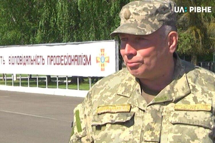 Начальника Рівненського військового полігону поновили на посаді