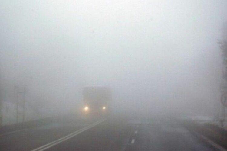 Служба порятунку попереджає про туман на Заході