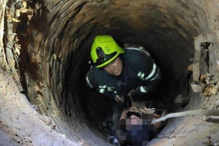 Дівчина впала до каналізаційного колектора