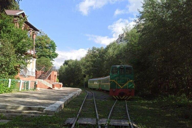 Дитячу залізницю у Луцьку міській владі можуть передати, продати або ж віддати в оренду