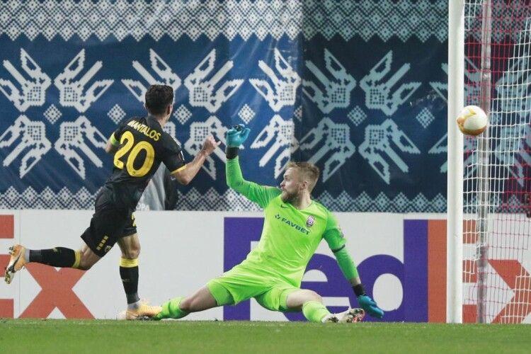 «Зоря» програла вже третій матч у груповому турнірі Ліги Європи