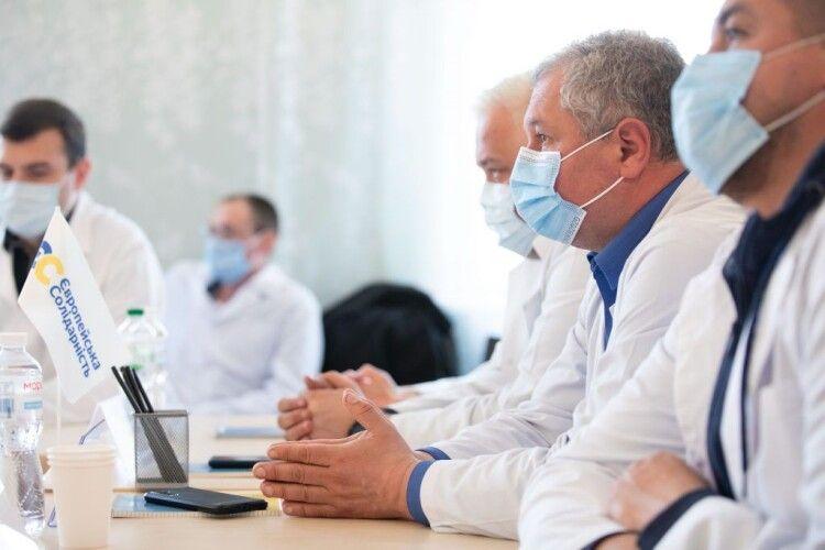 Лікарі на Черкащині розповіли депутатам «ЄС», що треба негайно виправляти для боротьби з ковідом