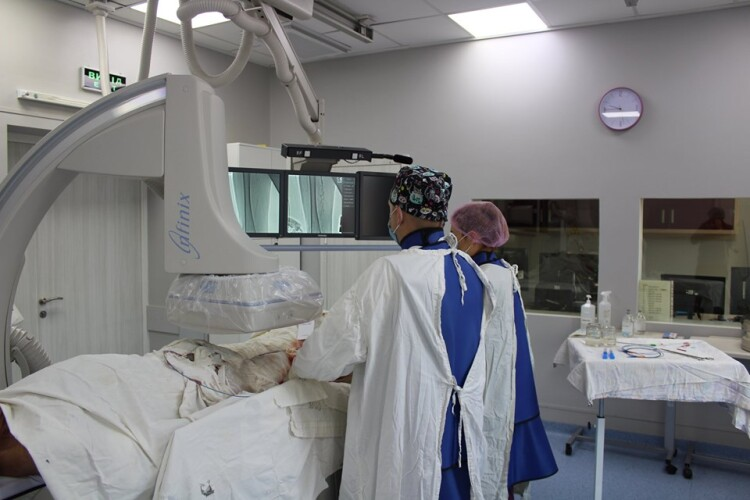 Ковельські лікарі вберегли чоловікові ногу від ампутації