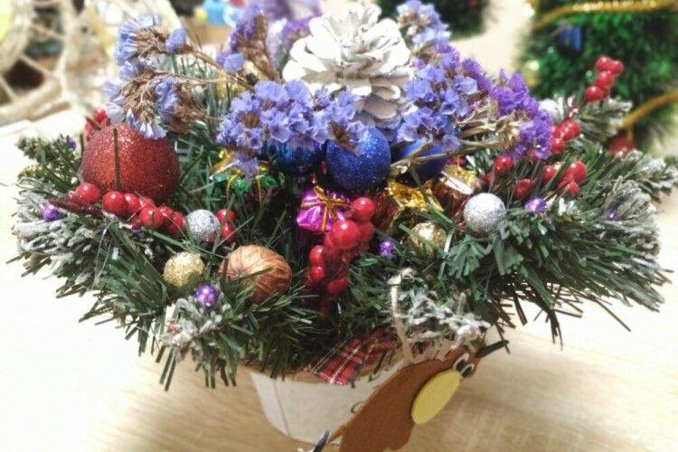 Школярі Боратинської громади показали ідеї новорічного хендмейду (Фото)